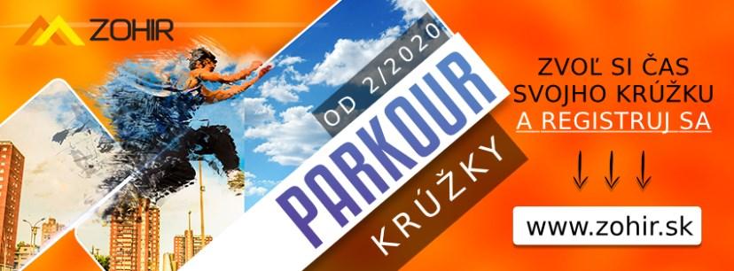 Parkour krúžok Trenčín - streda | Zohir.sk
