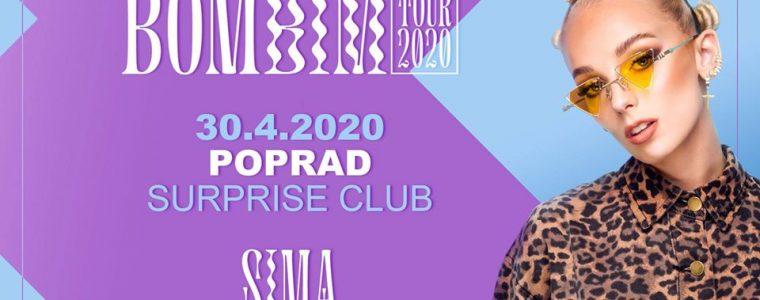 SIMA / Bombím Tour / Poprad