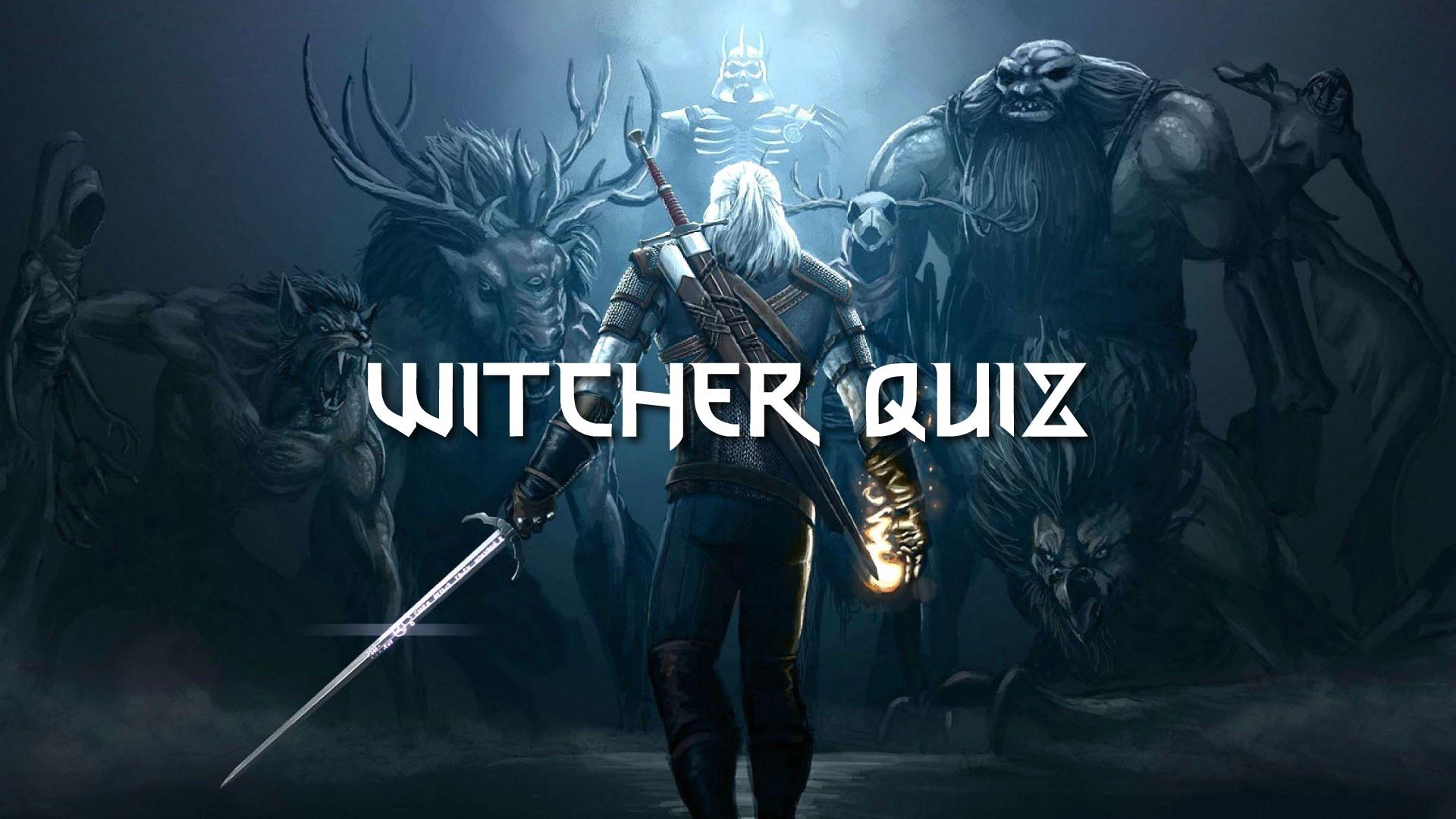 Witcher Quiz | KC Dunaj