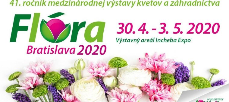 Flóra Bratislava 2020