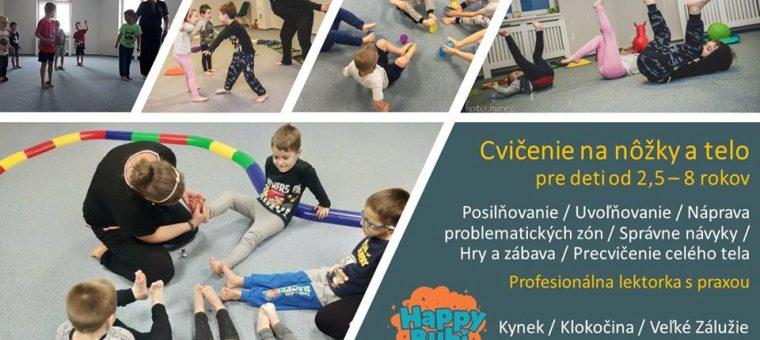 Cvičenie na celé telo pre 5,5-7 ročných. Obsadené