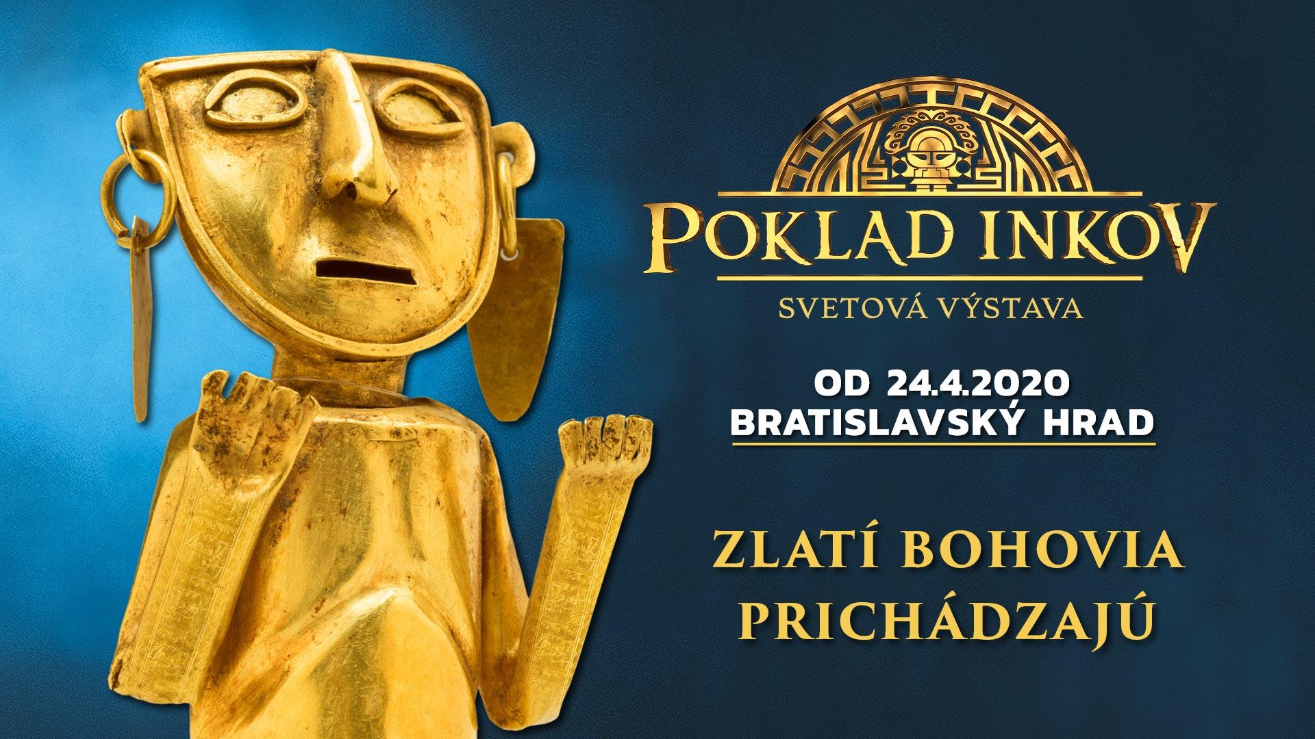 Výstava Poklad Inkov Bratislava od 24.6.