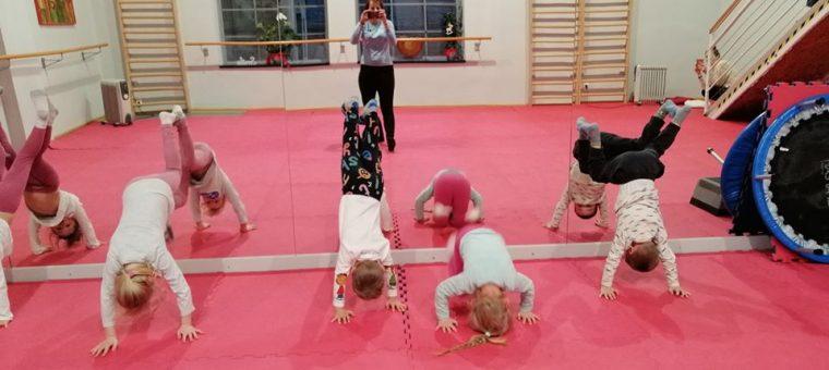 Cvičenie Pohybový rozvoj dieťaťa