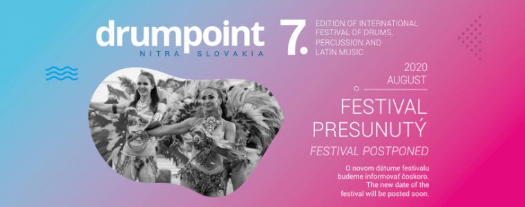 Festival Drumpoint Slovakia 2020 Nitra