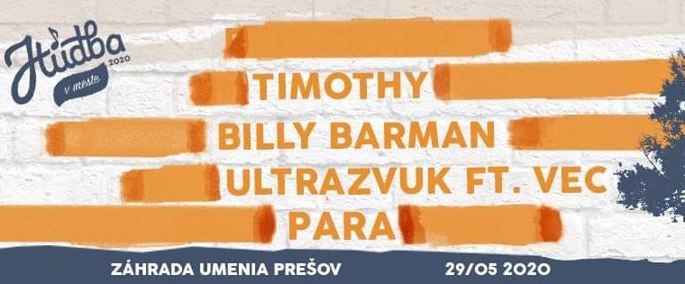 Hudba v meste 2020 Prešov