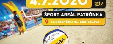 M SR turnaj v plážovom volejbale mužov a žien kategórie