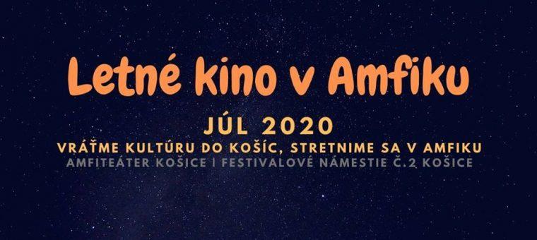 Letné kino v Amfiku | JÚL 2020