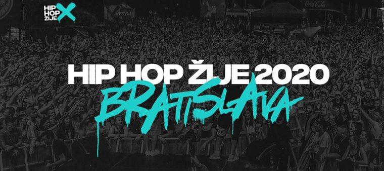 Hip Hop Žije 2020 / Bratislava