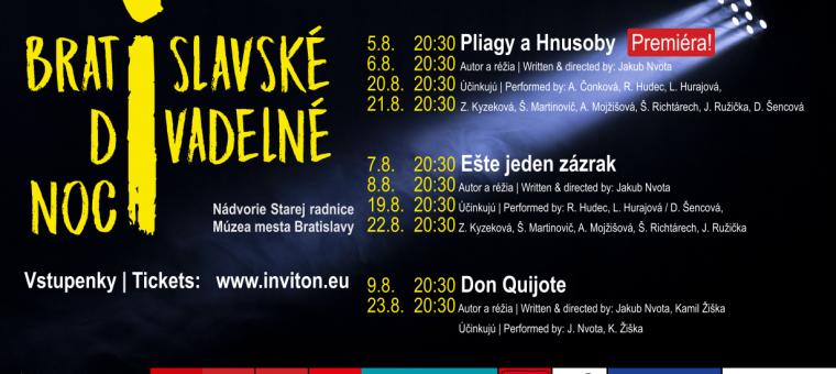 Bratislavské divadelné noci Múzeum mesta Bratislavy