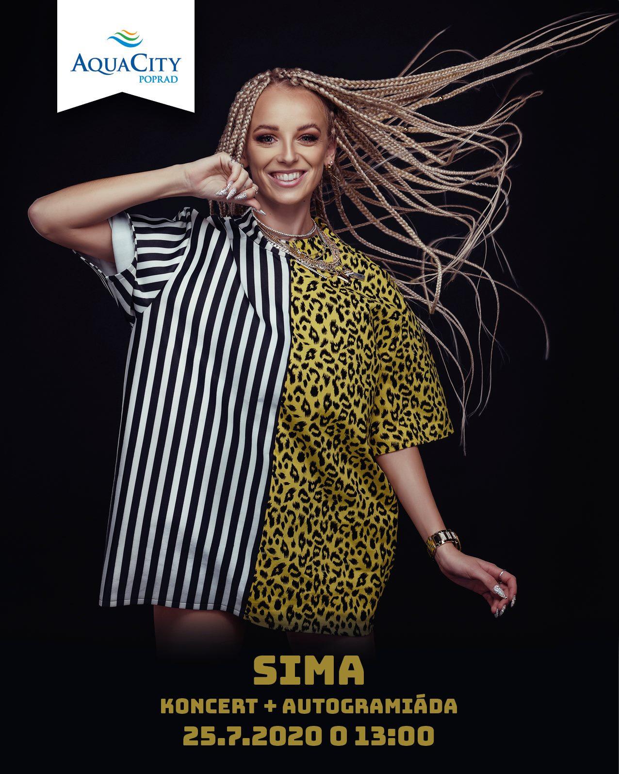 SIMA - koncert a autogramiáda v AquaCity Poprad