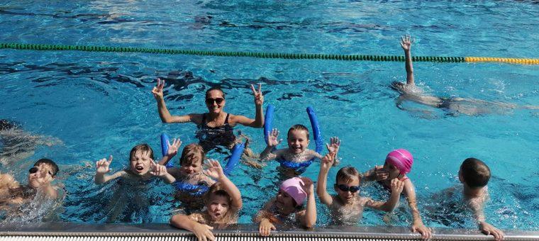 Prímestky športový tábor so zameraním na plavanie DYNAMIK