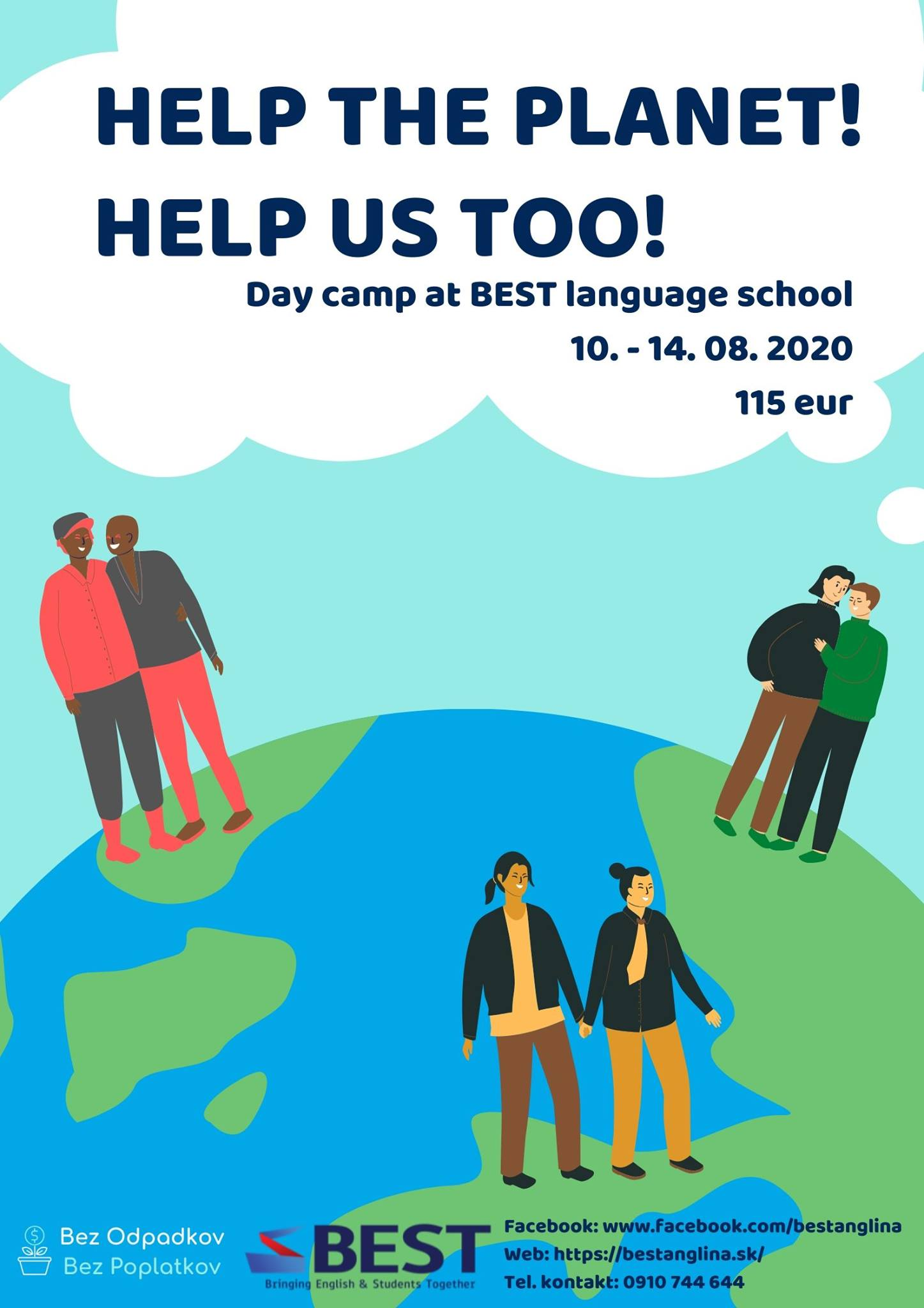 BEST English Camp 2020 - Help the planet! Help us too!