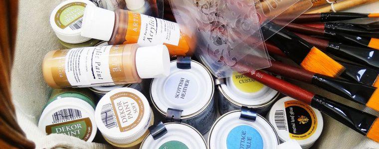Kreatívny workshop: Maľovaný nábytok Shabby Chic Cooltajner
