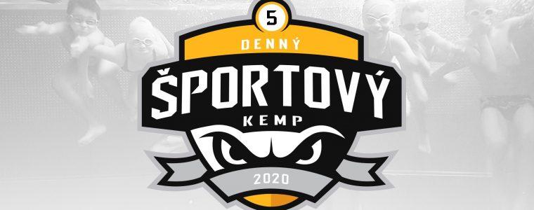 Denný Športový Kemp Leto 2020: 5. Turnus - Deti od 6 - 10 Rokov