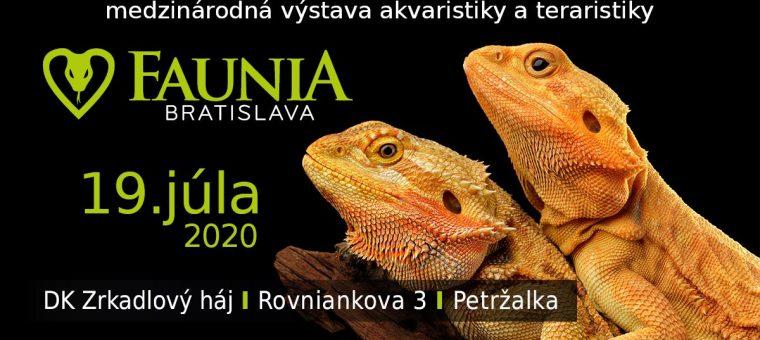 Faunia Bratislava 19.7.2020