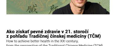 Ako získať pevné zdravie v 21. storočí z pohľadu TCM Trenčín-Magnus Hotel