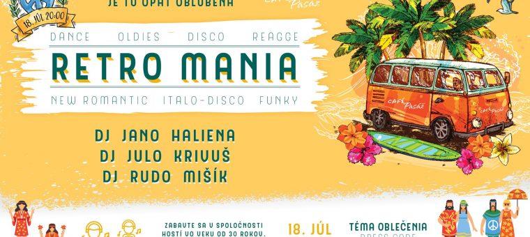 Letná RETRO mánia Café Pasáž