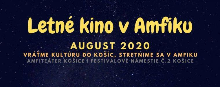Letné kino v Amfiku   August 2020