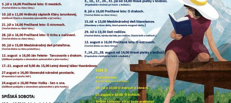 Medzinárodný deň priateľstva Podtatranská knižnica v Poprade