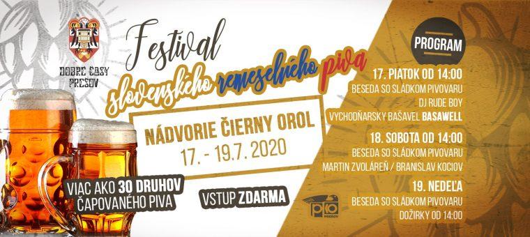 Festival slovenského remeselného piva Pko Prešov - Čierny orol