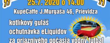 """Vaperská """"jazda"""" 25.07.2020 Kupé Coffe"""