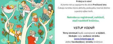 Prečítané leto: O tichu a načúvaní Podtatranská knižnica v Poprade