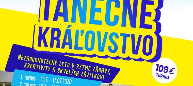 Denný LETNÝ tanečno-kreatívny tábor Trnava 2020
