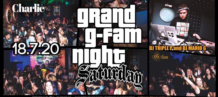 GRAND G-FAM Night 18/7/20