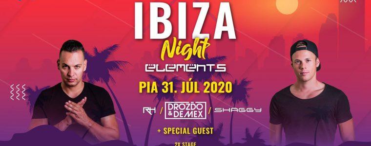 IBIZA Night - Nádvorie Elements OPEN AIR @31.7 Elements Trenčín