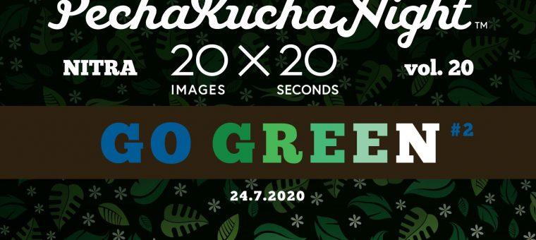 Pecha Kucha Night Nitra vol. 20: Go green #2 Hidepark Nitra