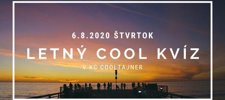 Letný Cool Kvíz v KC Cooltajner