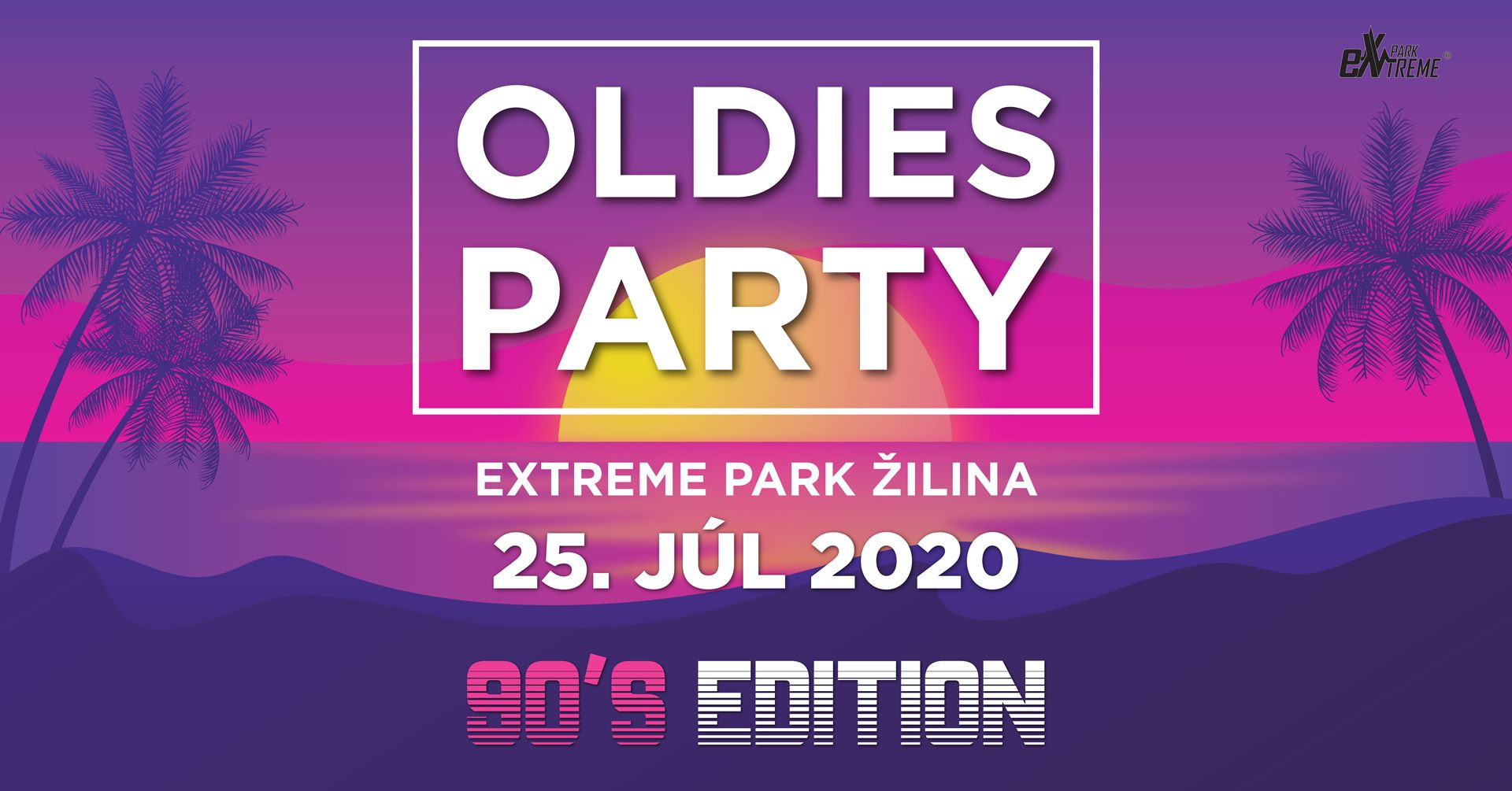 Oldies party eXtreme park Žilina