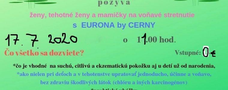 Voňavé stretnutie s Euronou by Cerny Jarková 2