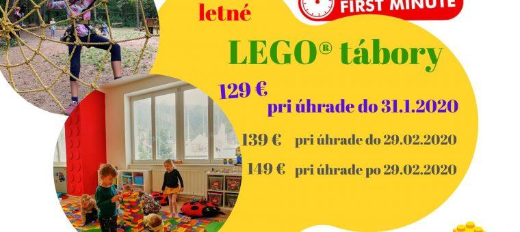 Letné denné LEGO® tábory s KreaTivOm