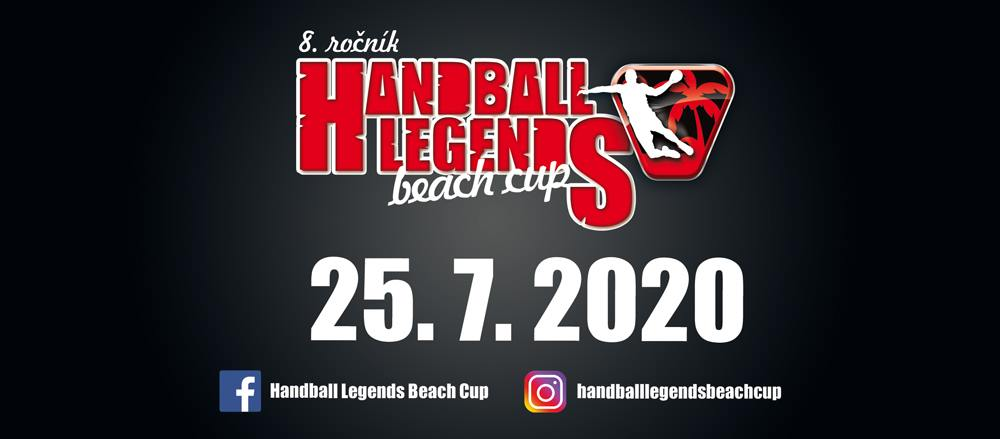 Handball Legends beach Cup 2020 Kúpalisko Ryba Anička