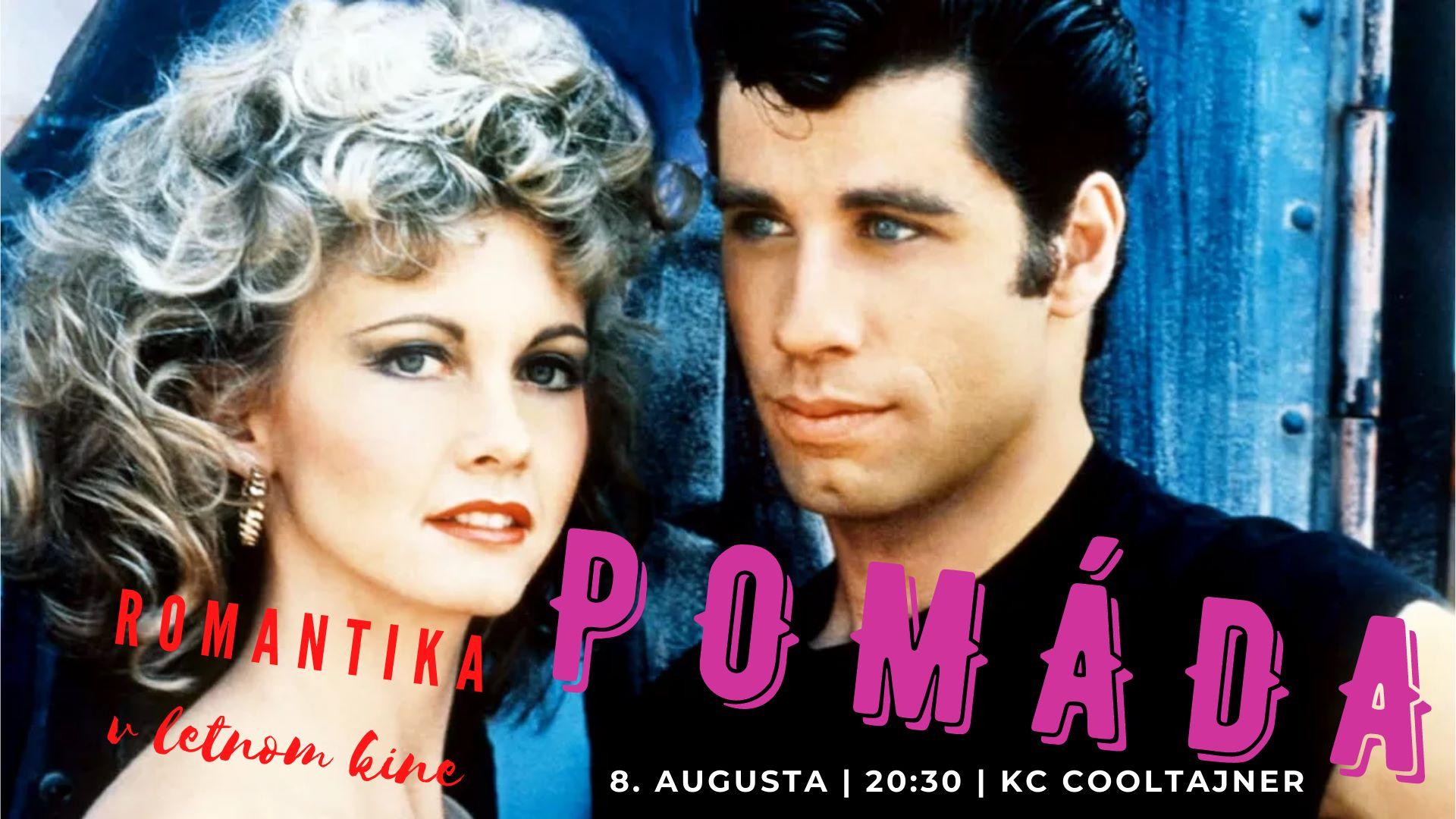 POMÁDA | Legendárny muzikál v letnom kine Cooltajneru