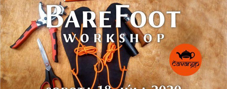 Workshop: Barefoot - vyrob si vlastnú obuv Čavango