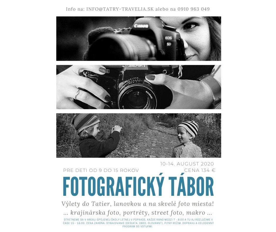 Fotografický tábor CK Tatry Travelia