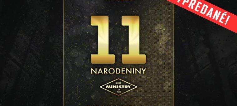 11. Narodeniny Ministry of Fun