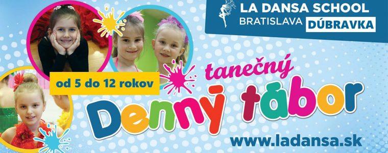 Denny tábor La Dansa School Dúbravka - od 5 do 11 rokov studio23