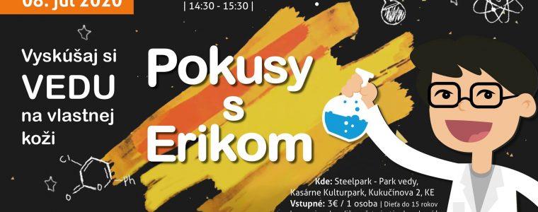 Pokusy s Erikom Steelpark - Park vedy