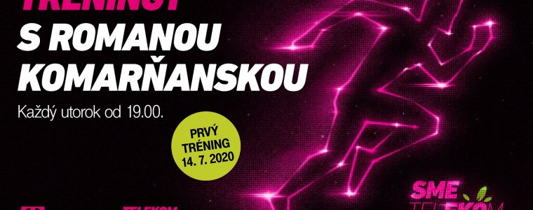 12. Telekom Night Run – bežecké tréningy 2020