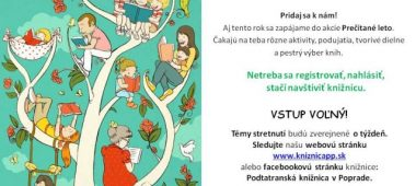 Tancovanie s drakom Podtatranská knižnica v Poprade