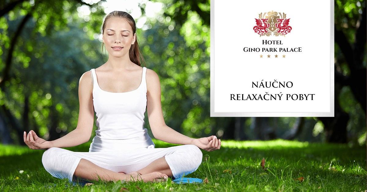 Relaxačný joga pobyt Hotel Gino Park Palace