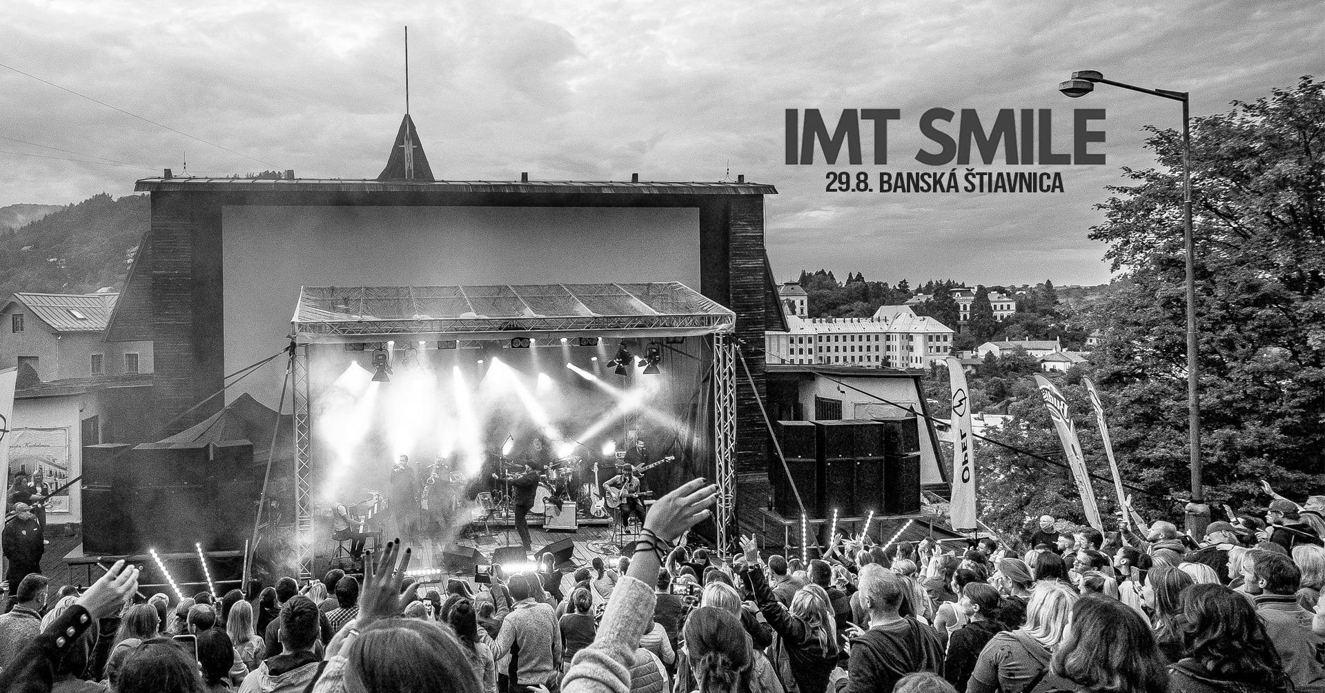 IMT SMILE - Banská Štiavnica - Amfiteáter 29.8.2020