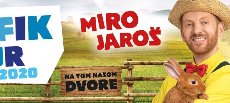 MIRO JAROŠ - Martin Amfik tour 2020