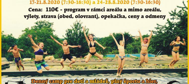 Letný denný camp pre deti a mládež v Devínskej Novej Vsi