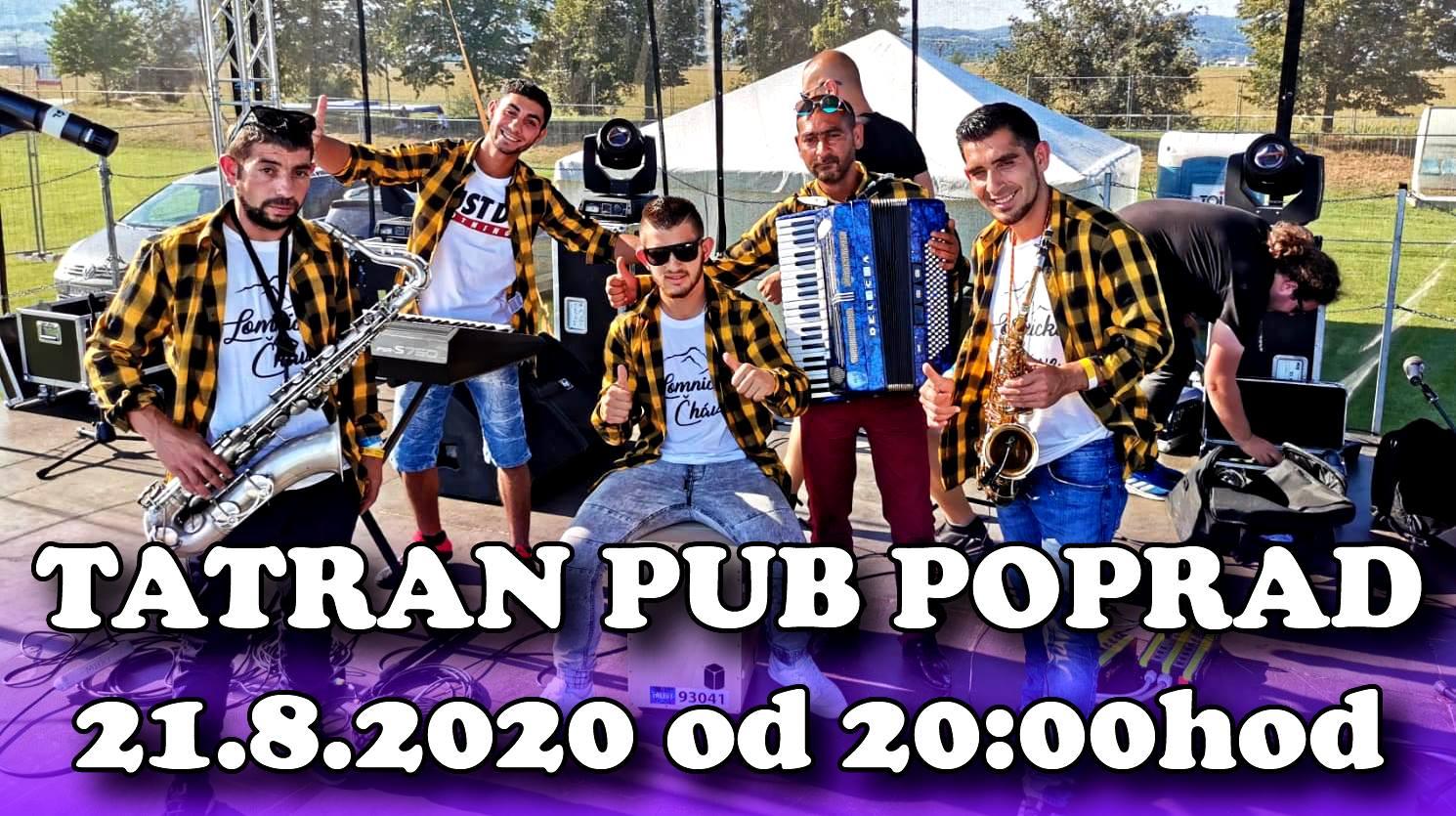 Lomnické čháve - Tatran pub Poprad