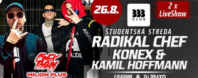 Radikal Chef & Konex & Kamil Hoffmann LIVE
