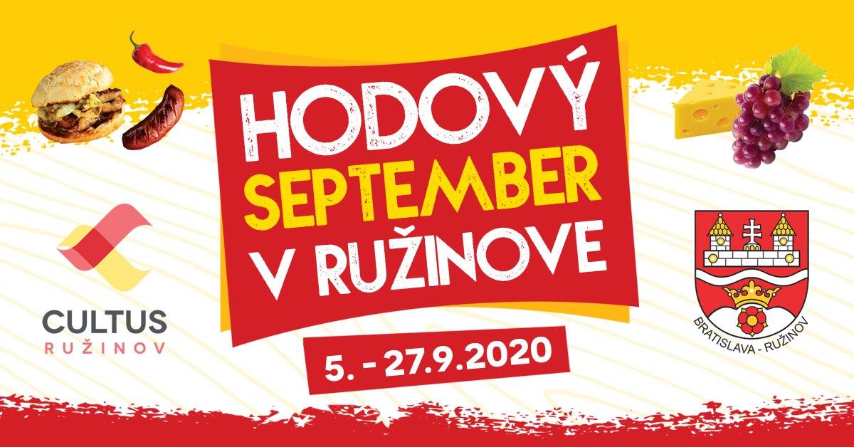 Hodový september v Ružinove